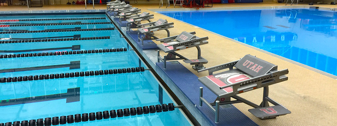 Custom Starting Blocks, University of Utah